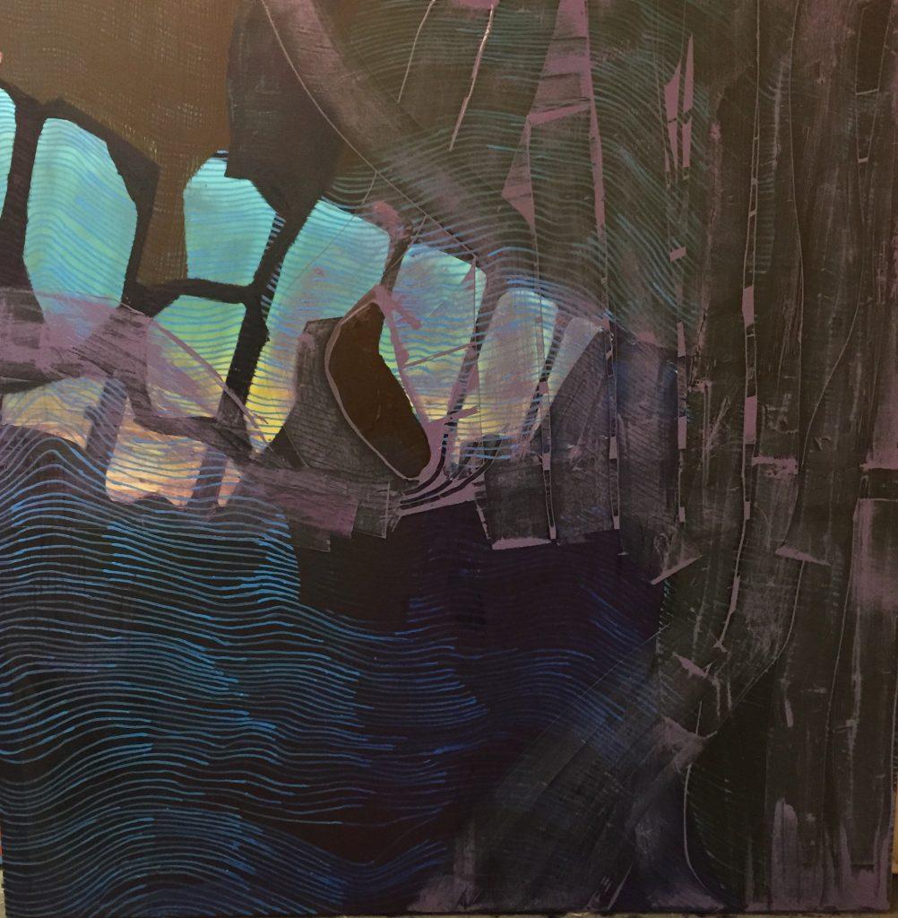 "Oil on Canvas 60x60"""